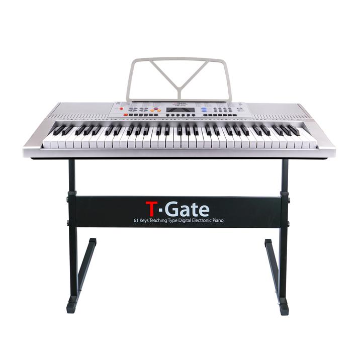 토이게이트 교습용 디지털 피아노 TYPE B, 단일 상품, 실버