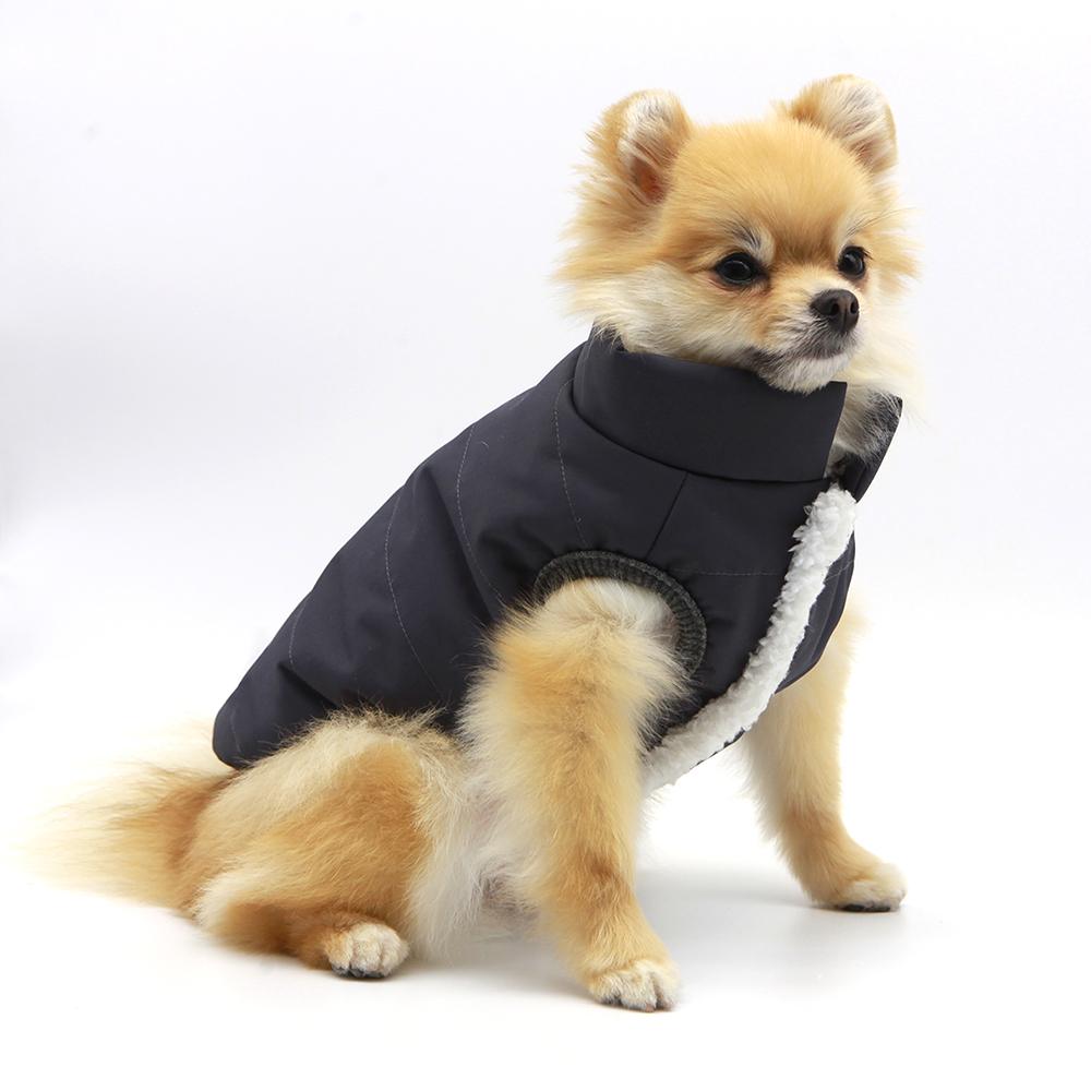 우프우프 강아지 패딩, 블랙