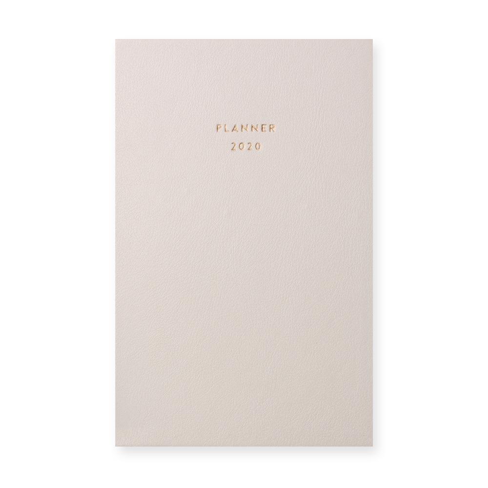 대시앤도트 Planner 2020, 크림베이지