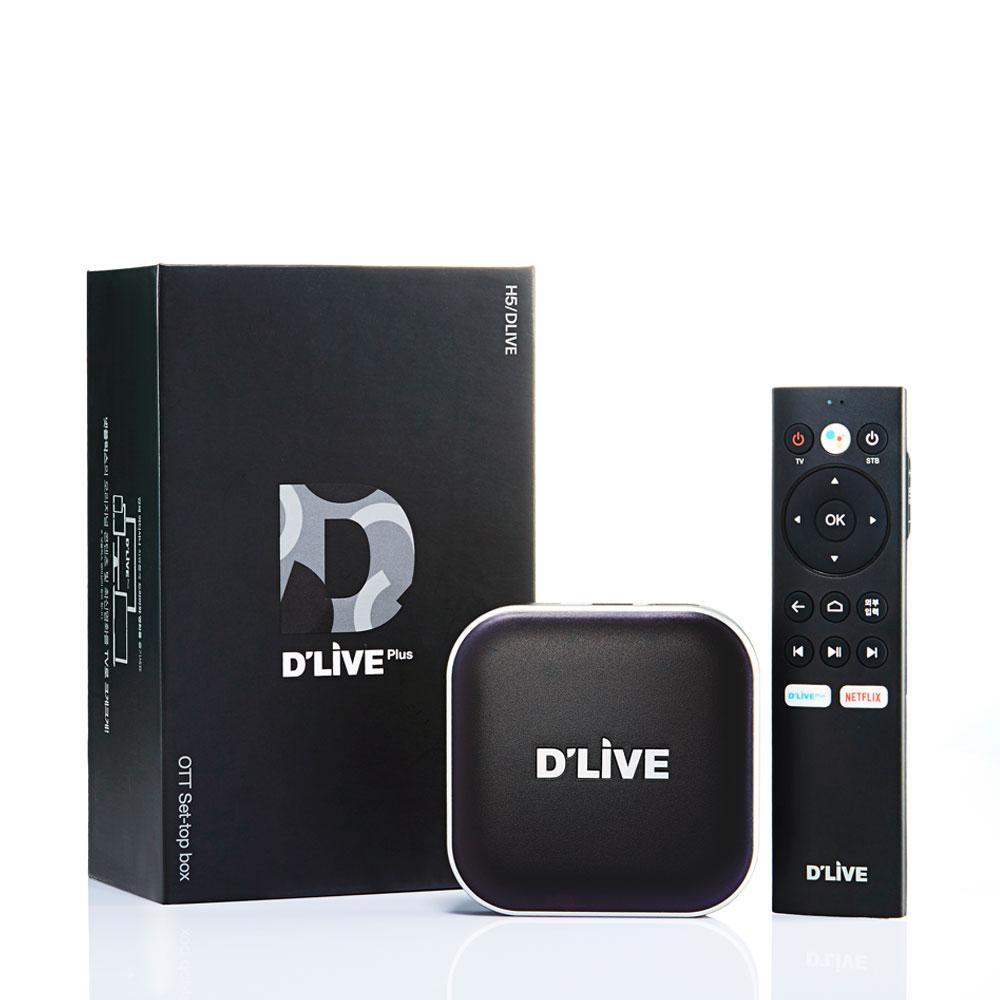 딜라이브 UHD H5 플러스 OTT 셋톱박스, 단일 상품