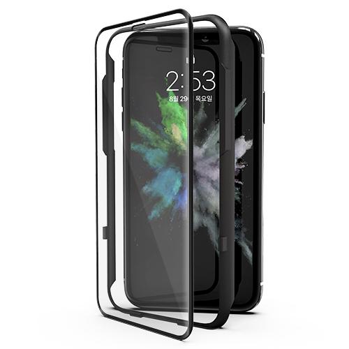 신지모루 풀커버 강화유리 3D 핸드폰 액정보호필름, 1개