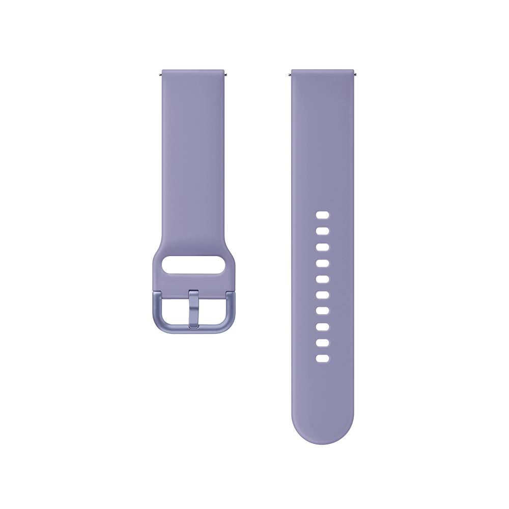 삼성전자 갤럭시 액티브 1/2/워치3 20mm 스포츠 스트랩 ET-SFR82 (40/41/42mm 호환 가능), 바이올렛, 1세트