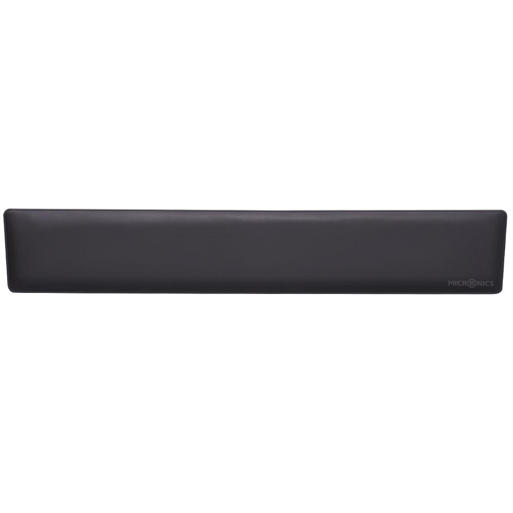 마이크로닉스 PAMPAM 팜레스트 키보드 손목받침대, 블랙, 1개