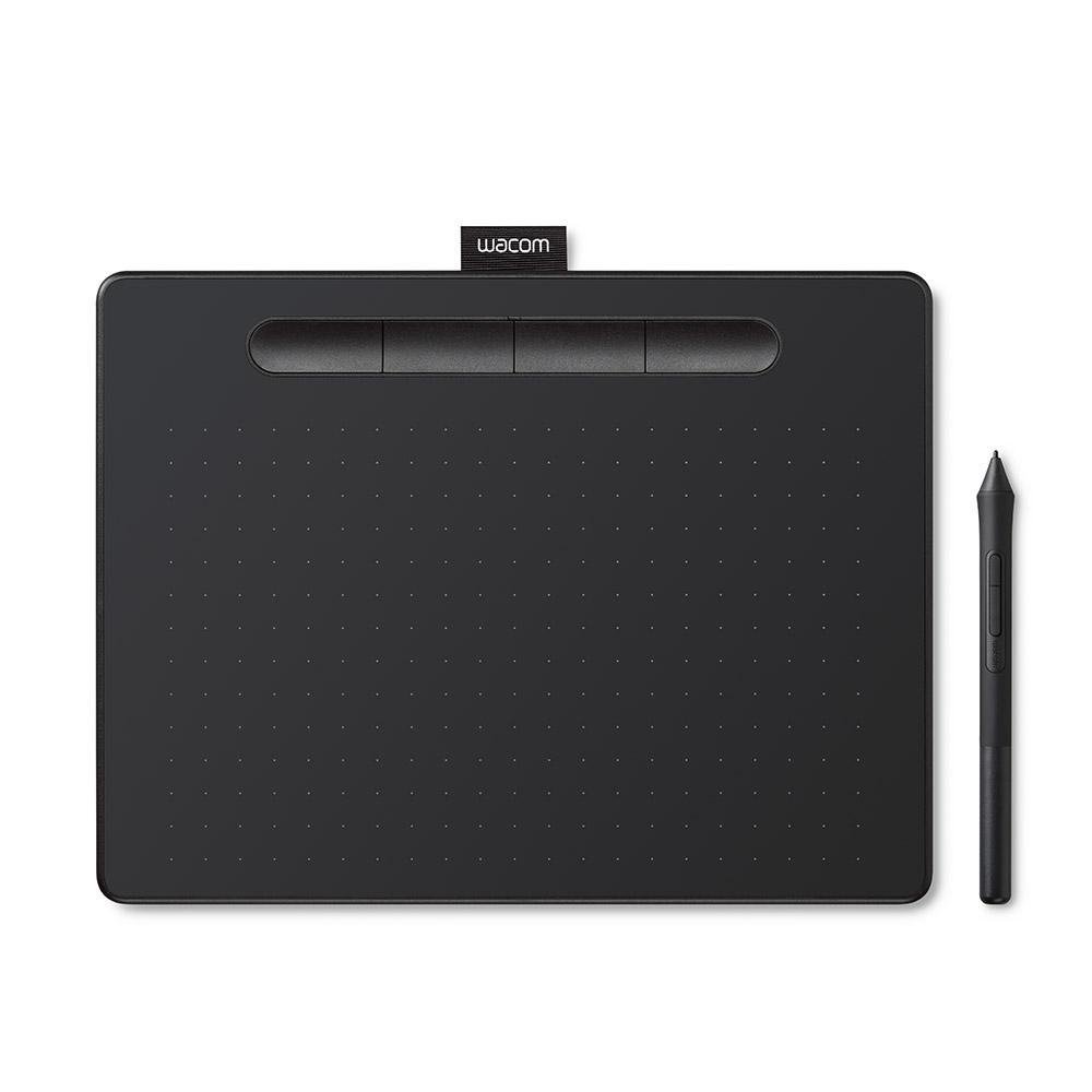 와콤 USB타입 인튜어스 중형 펜타블렛 CTL-6100, 블랙