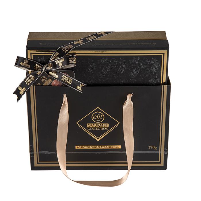 엘리트 고메 어쏘티드 셀렉션 초콜렛 세트 블랙, 초콜릿 4종, 1세트
