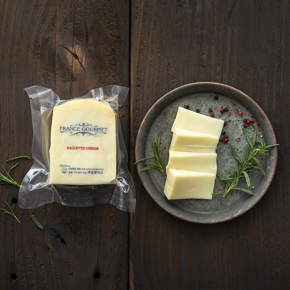 프랑스구르메 숲골 치즈빚는 마을 라클렛 치즈, 200g, 1개