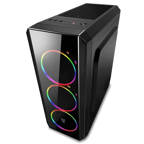 쓰리알시스템 J230 블랙 CP RGB PC케이스, 단일 상품