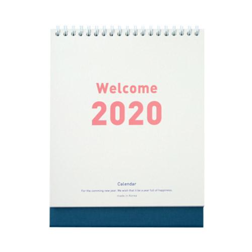 잼스튜디오 2020 웰컴 달력, 네이비