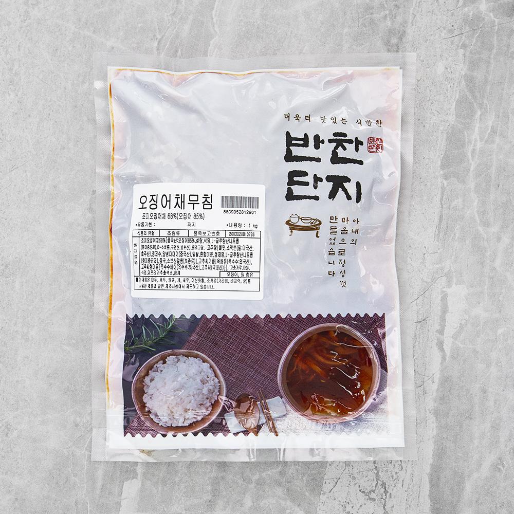반찬단지 오징어채무침, 1kg, 1개