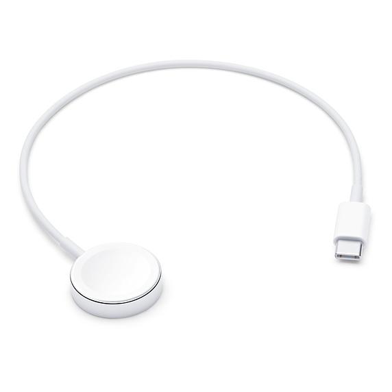 Apple 정품 애플워치 마그네틱 충전 케이블 USB-C 0.3m MX2J2KH/A, 단일 색상, 1개