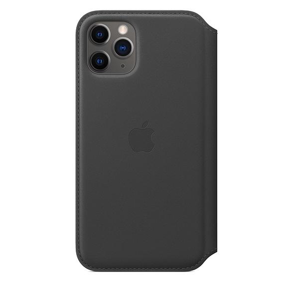 Apple 정품 가죽 폴리오 휴대폰 케이스