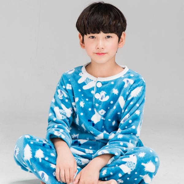 [주니어 수면잠옷] 이라인 남아용 캔디곰 수면 잠옷 - 랭킹4위 (15900원)