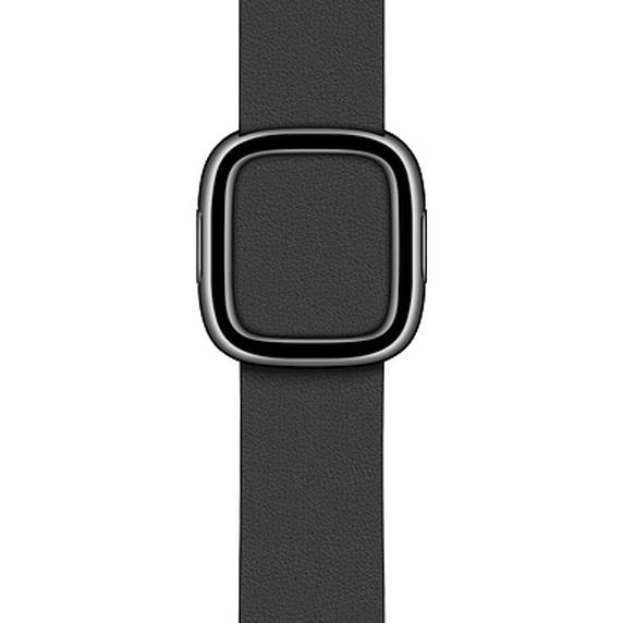 Apple 정품 애플워치 3/4/5 모던 버클 밴드, 38/40mm, Black