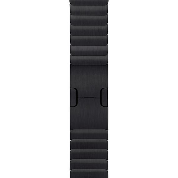 Apple 정품 애플워치 3/4/5 링크 브레이슬릿, 42/44mm, Space Black