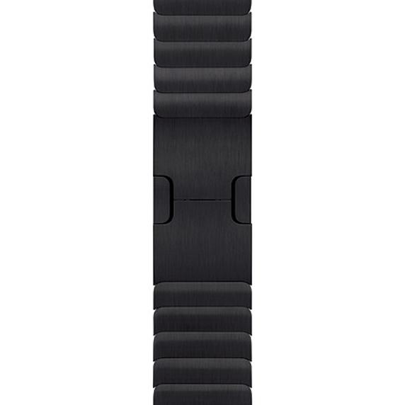 Apple 정품 애플워치 3/6/SE 링크 브레이슬릿, 38/40mm, Space Black