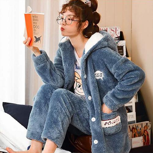글램공감 여성용 파워투피스 수면잠옷세트