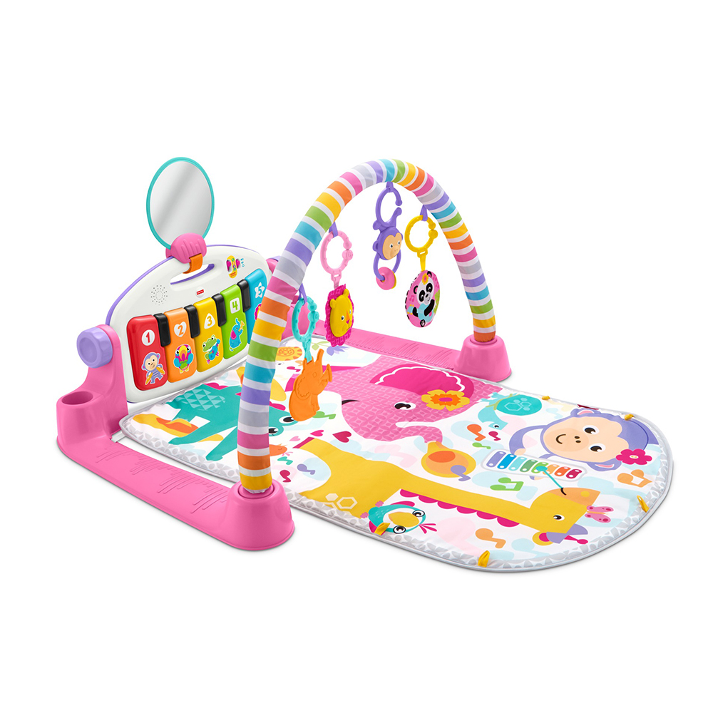 피셔프라이스 피아노 아기 체육관 디럭스, 핑크