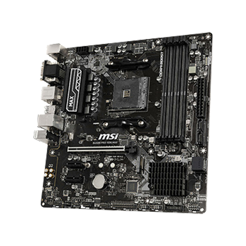 MSI B450M PRO-VDH 맥스 AMD CPU용 메인보드 MS-7A38