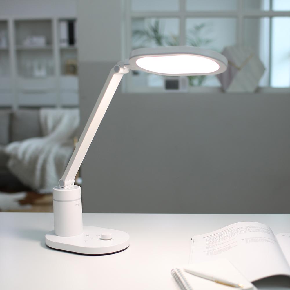 무아스 시력보호 내추럴 LED 스탠드 MLL7, 혼합 색상