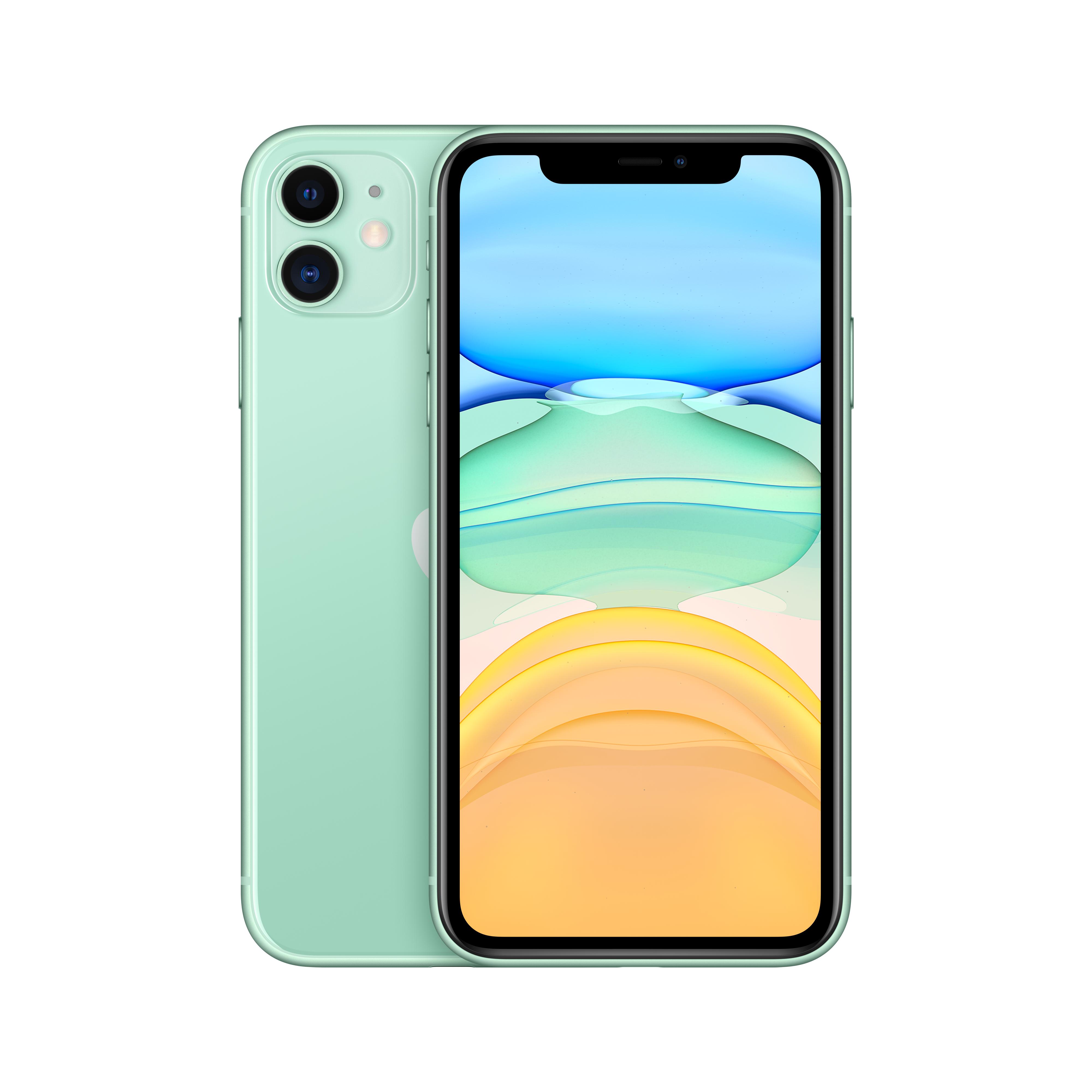 Apple 아이폰 11 6.1 디스플레이, Green, 64GB