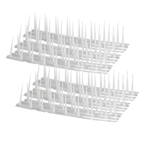버드 스파이크 비둘기 퇴치기 + 대형 케이블 타이 20p, 2세트
