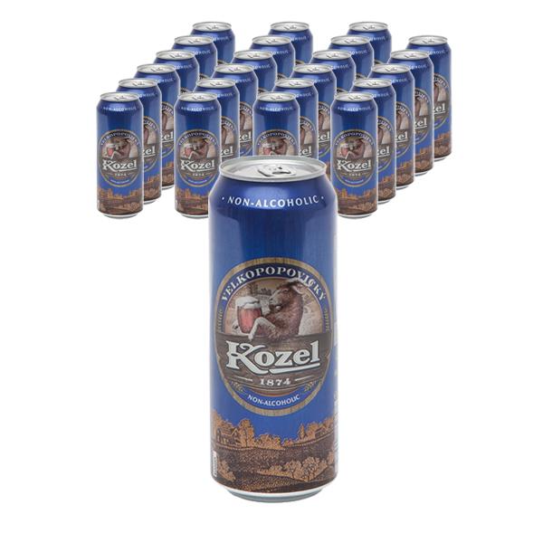 벨코포포빅키 코젤 무알콜 음료, 500ml, 24개