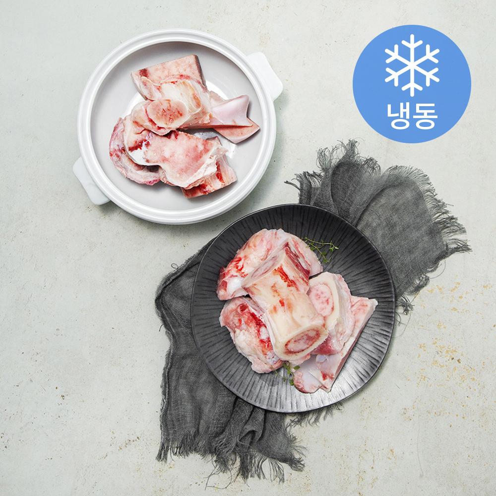 횡성한우 사골 (냉동), 2kg, 1개