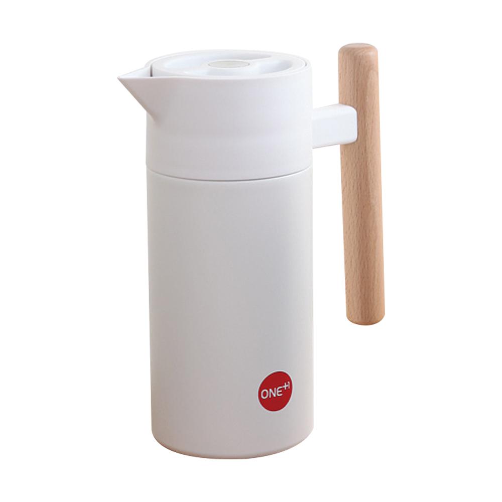 원더원 보온보냉 주전자, 1.2L, 화이트크림