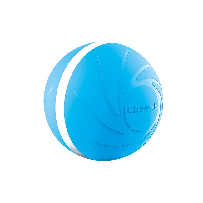 위키드볼 반려동물 움직이는 방수 장난감 77mm, 블루, 1개