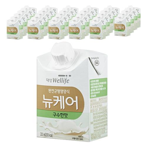 대상웰라이프 뉴케어 구수한맛 완전균형영양식, 200ml, 30개