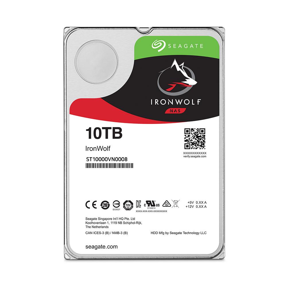 씨게이트 서버용 아이언울프 3.5 HDD, ST10000VN0008, 10TB