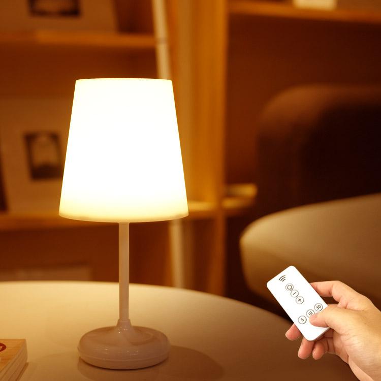 더숨 무선 LED 스탠드 SOOM-LP30R, 웜화이트