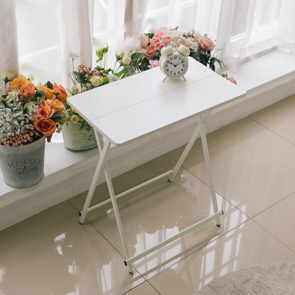 까사마루 오드리 사이드 테이블, 화이트 + 화이트