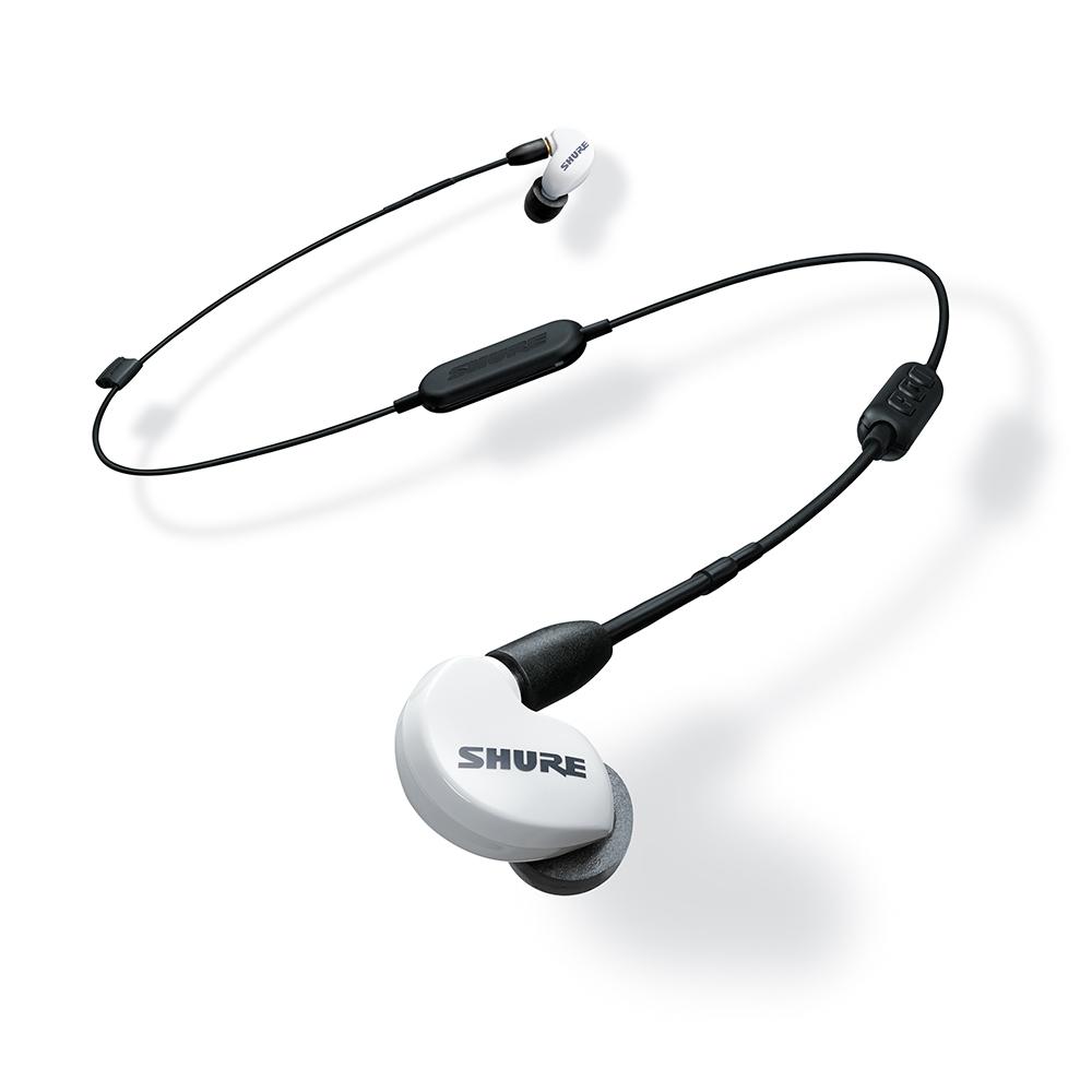 슈어 블루투스 이어폰, SE215SPE-BT1, 화이트