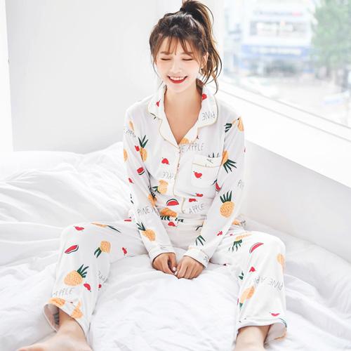 코코드림 AL41903 새콤달콤 과일파티 셔츠 투피스 잠옷