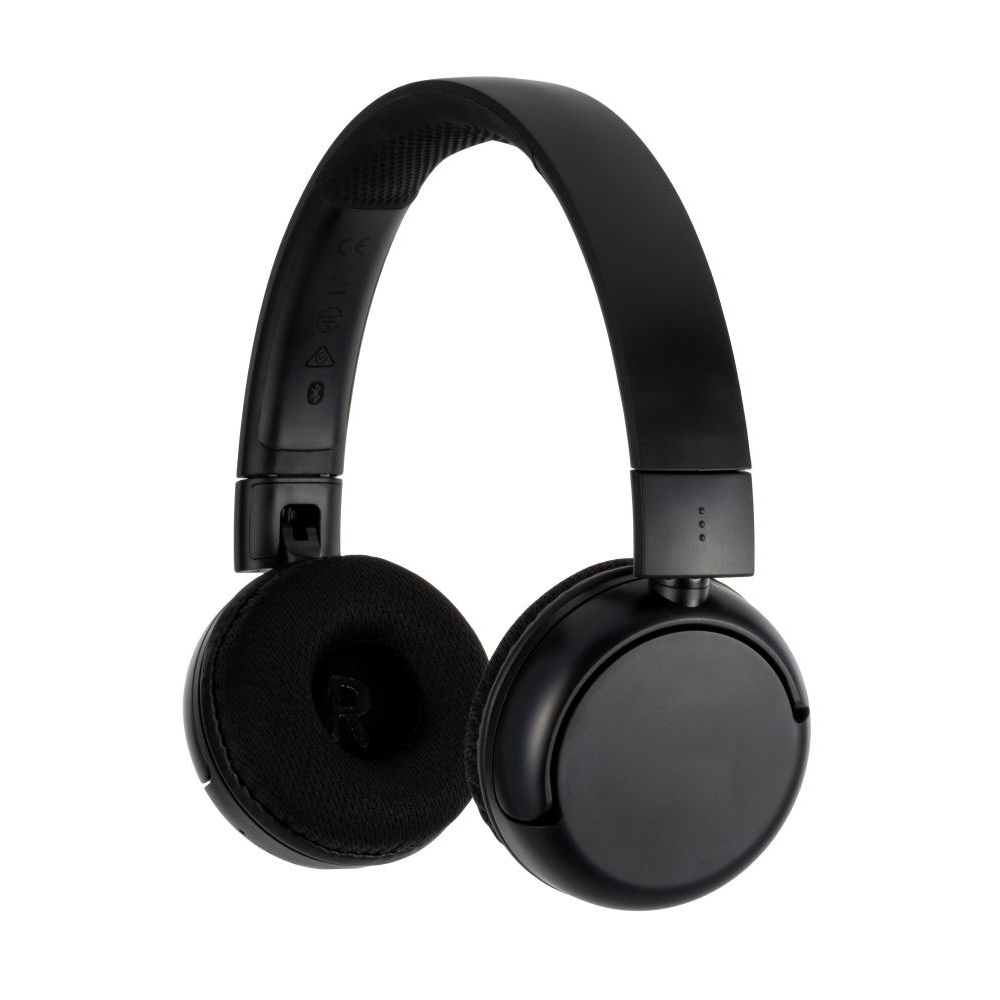 버디폰 팝 어린이청력보호 블루투스 무선 헤드폰, 블랙, POP-BLACK