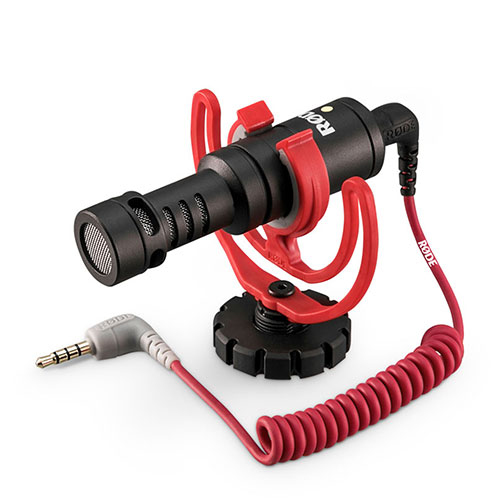로드 비디오마이크로 카메라용 초소형 샷건 마이크, 단일 상품, 1개