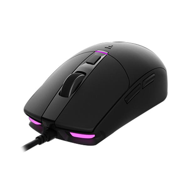 앱코 HACKER 옵티컬 RGB 게이밍 마우스 A250, 블랙