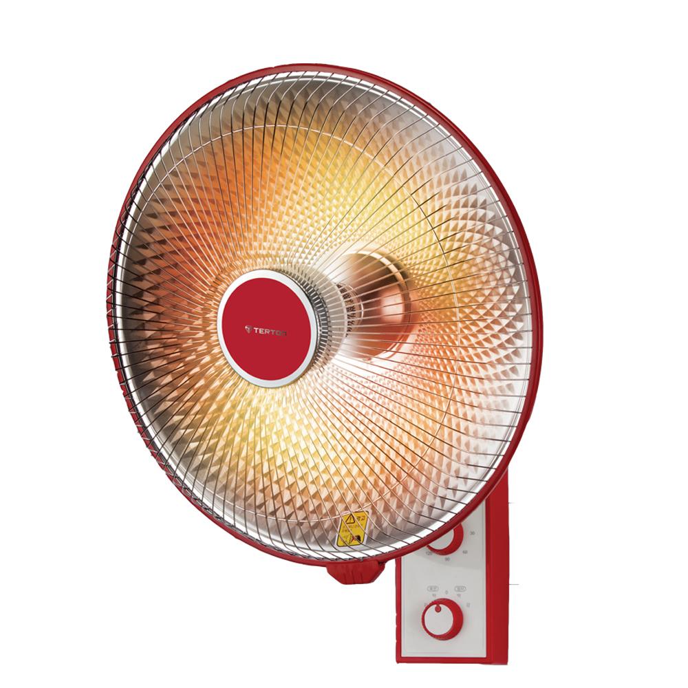테르톤 벽걸이 타이머 세라믹 선풍기형 히터, TH-2713WC