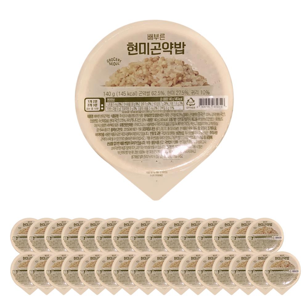그로서리서울 즉석 현미곤약밥, 140g, 32개
