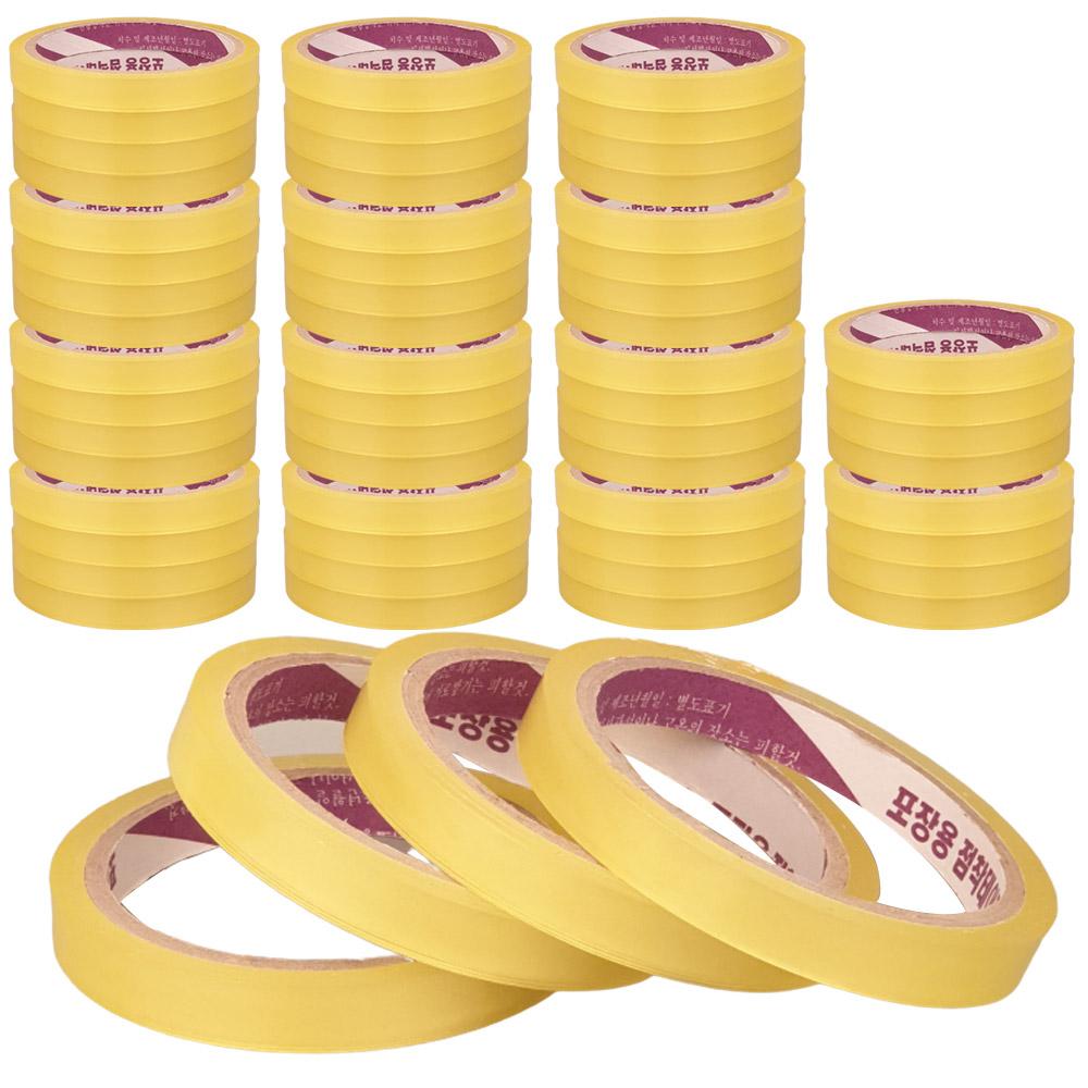 에타 국산 투명 포장 테이프 12mm x 30m, 60개