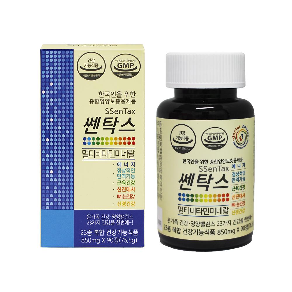 닥터피플 쎈탁스 멀티 비타민 미네랄, 90정, 1개