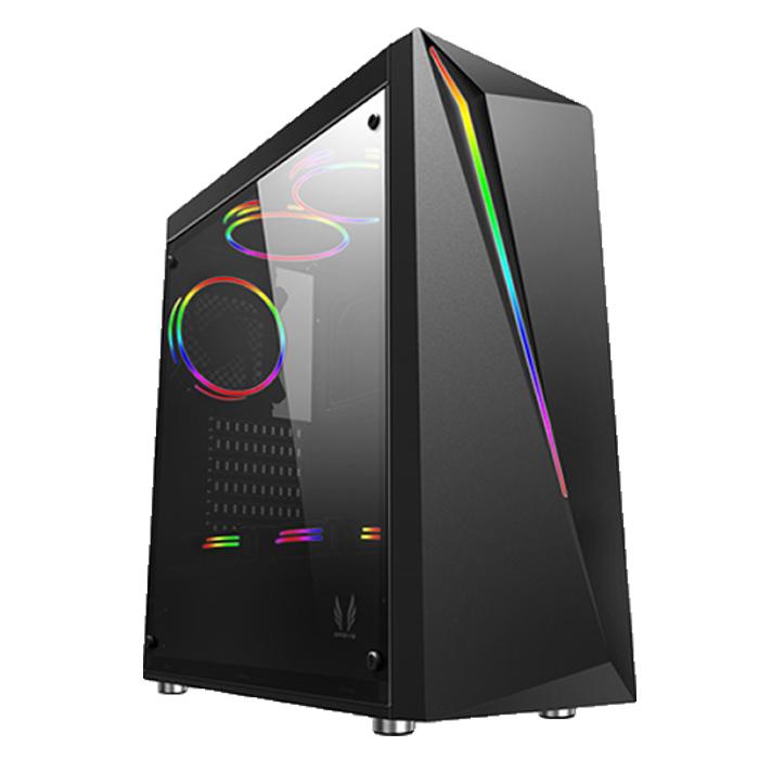 컴맹닷컴 조립PC CM93FC-R57H (I3-9100F WIN10 RAM8GB SSD240GB 라데온RX570), 기본형