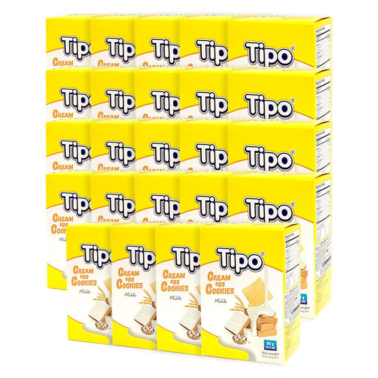 티포 에그 쿠키, 90g, 24개