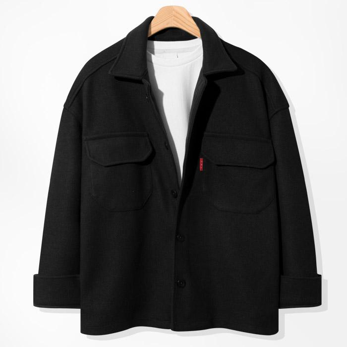제이에이치스타일 남녀공용 울 라이크 숏 자켓