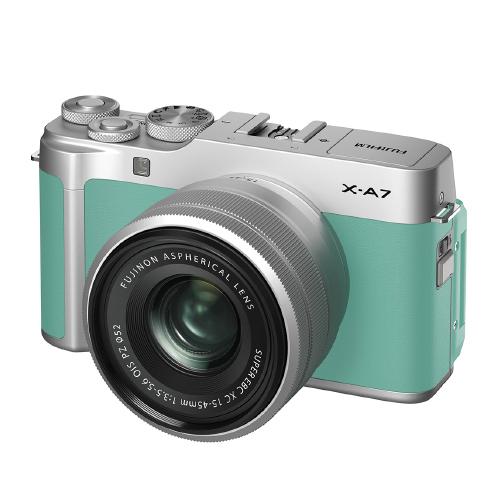후지필름 X-A7 XC15-45mm Kit 미러리스카메라, X-A7(Mint Green)