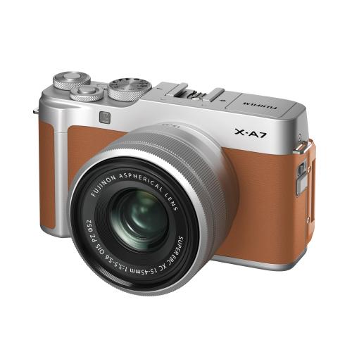 후지필름 X-A7 XC15-45mm Kit 미러리스카메라, X-A7(Camel)