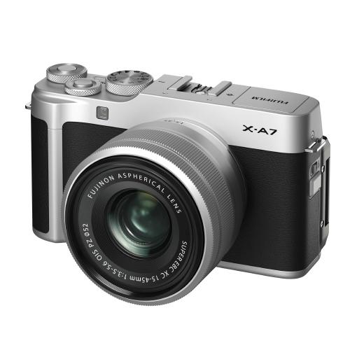 후지필름 X-A7 XC15-45mm Kit 미러리스카메라, X-A7(Silver)