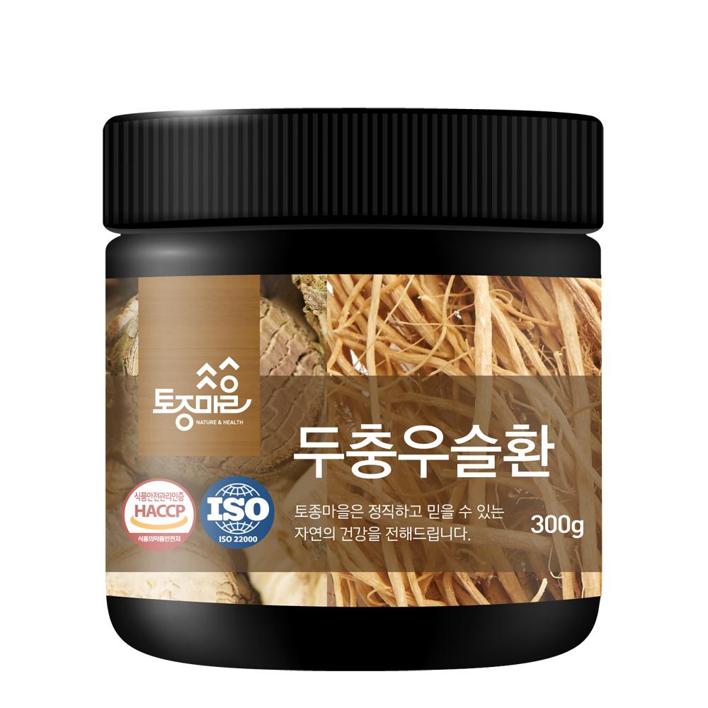 [두충] 토종마을 국산 두충우슬환, 300g, 1개 - 랭킹1위 (19810원)