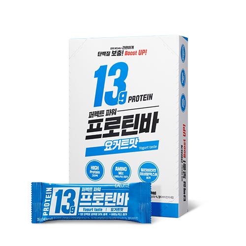 칼로바이 퍼펙트파워 프로틴바 단백질바 요거트맛, 35g, 10개